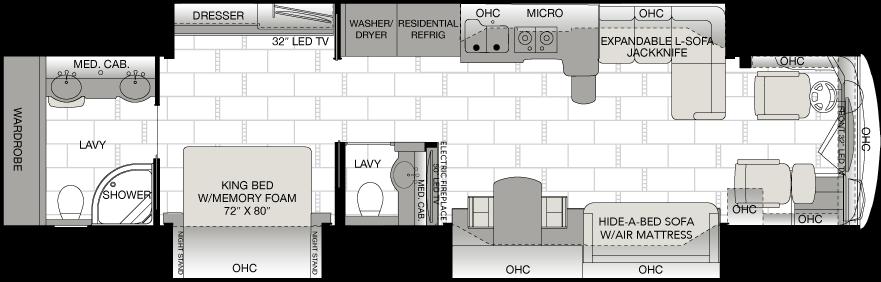 Floorplan 43D